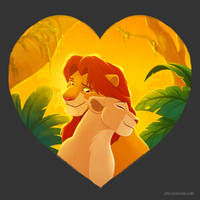 Threadless Design Challenge: The Lion King by autogatos