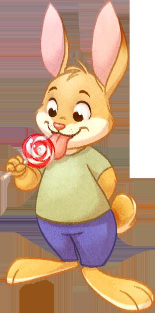 Lollipop Bunny Returns! by autogatos