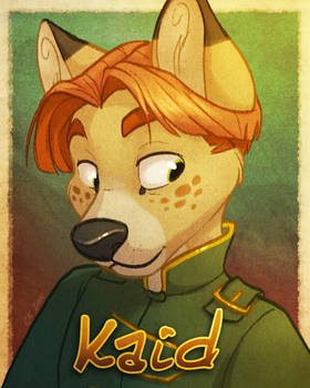 Kaid Badge