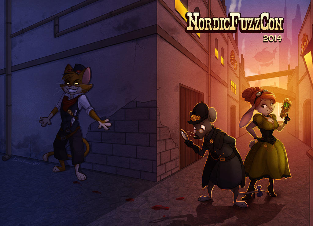 NordicFuzzCon 2014 Cover by autogatos