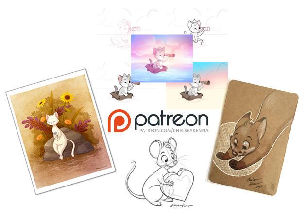 Patreon Rewards by chelseakenna