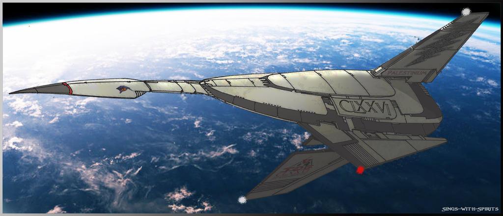 Renegade Legion Illustris-class Battleship by Sings-With-Spirits
