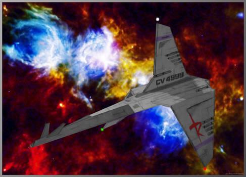 Renegade Legion Lakshmi-class carrier