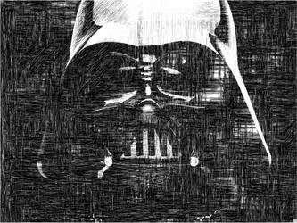 Darth Vader by haxxorkris