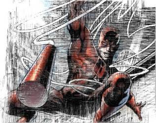 Daredevil In Colour by haxxorkris