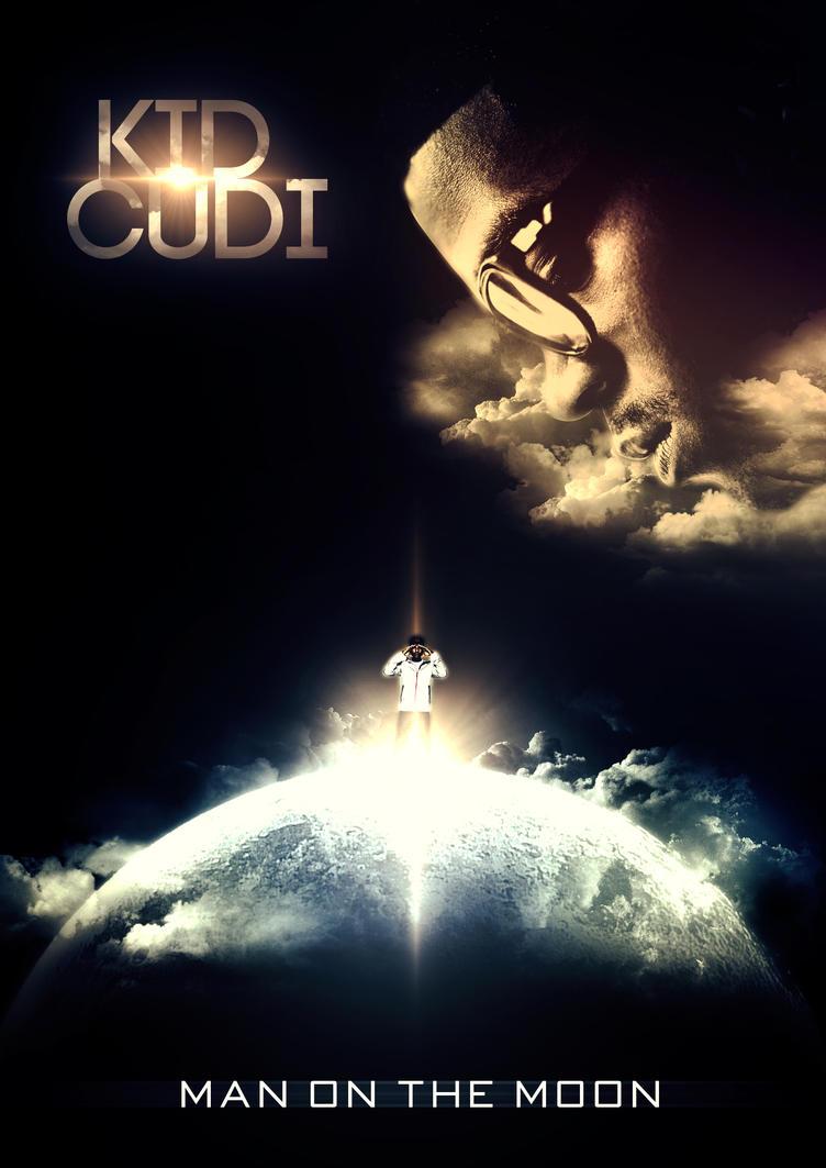 kid cudi man on the moon by astronarts on deviantart