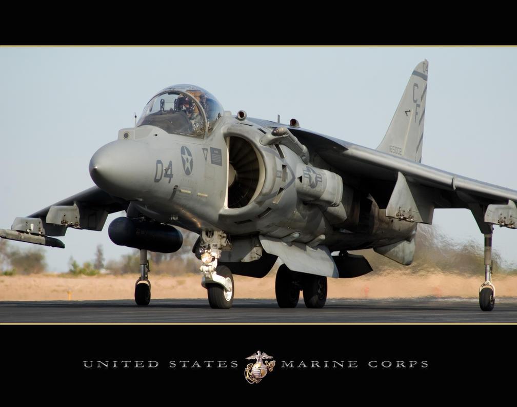 USMC Harrier by jdmimages
