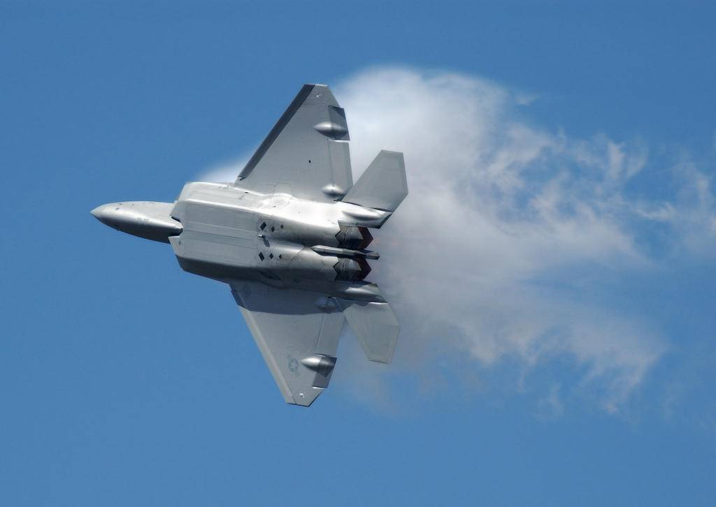 Raptor in Vapor by jdmimages