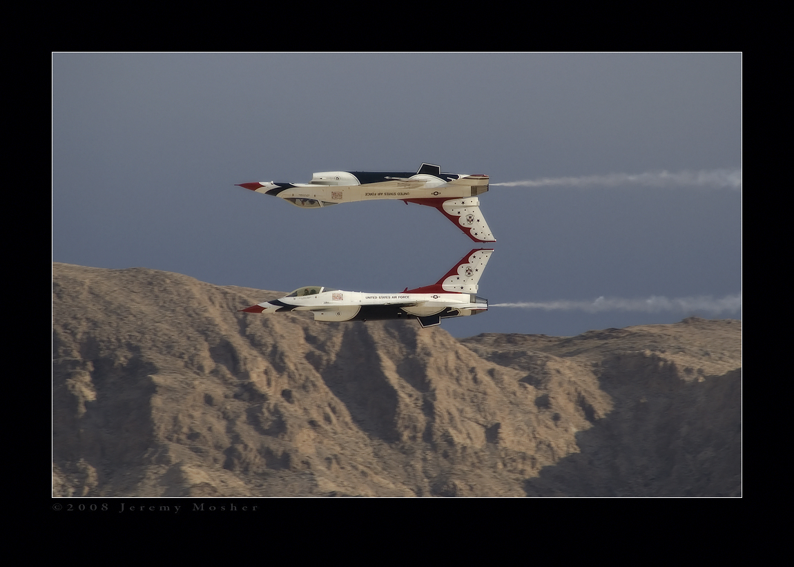 Nellis Thunderbirds 2008 by jdmimages