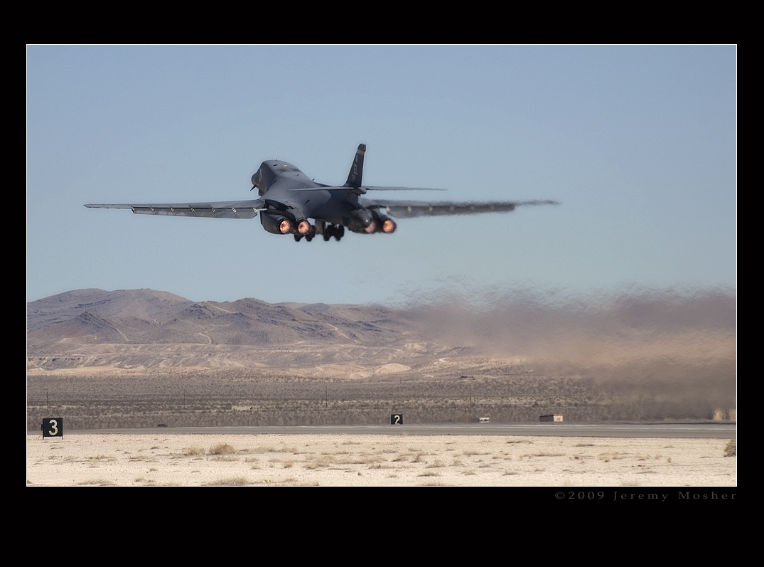 B-1 Deparure 2 by jdmimages
