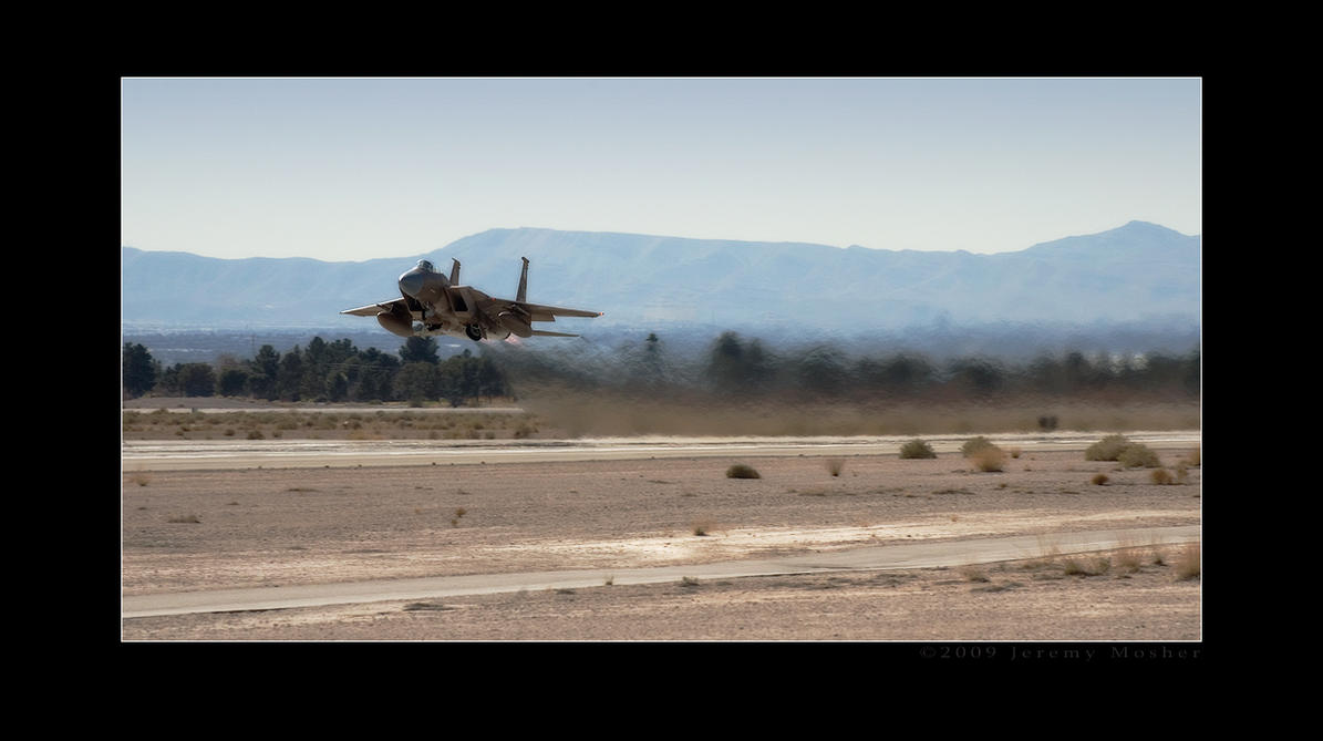 F-15 Aggressor Takeoff by jdmimages