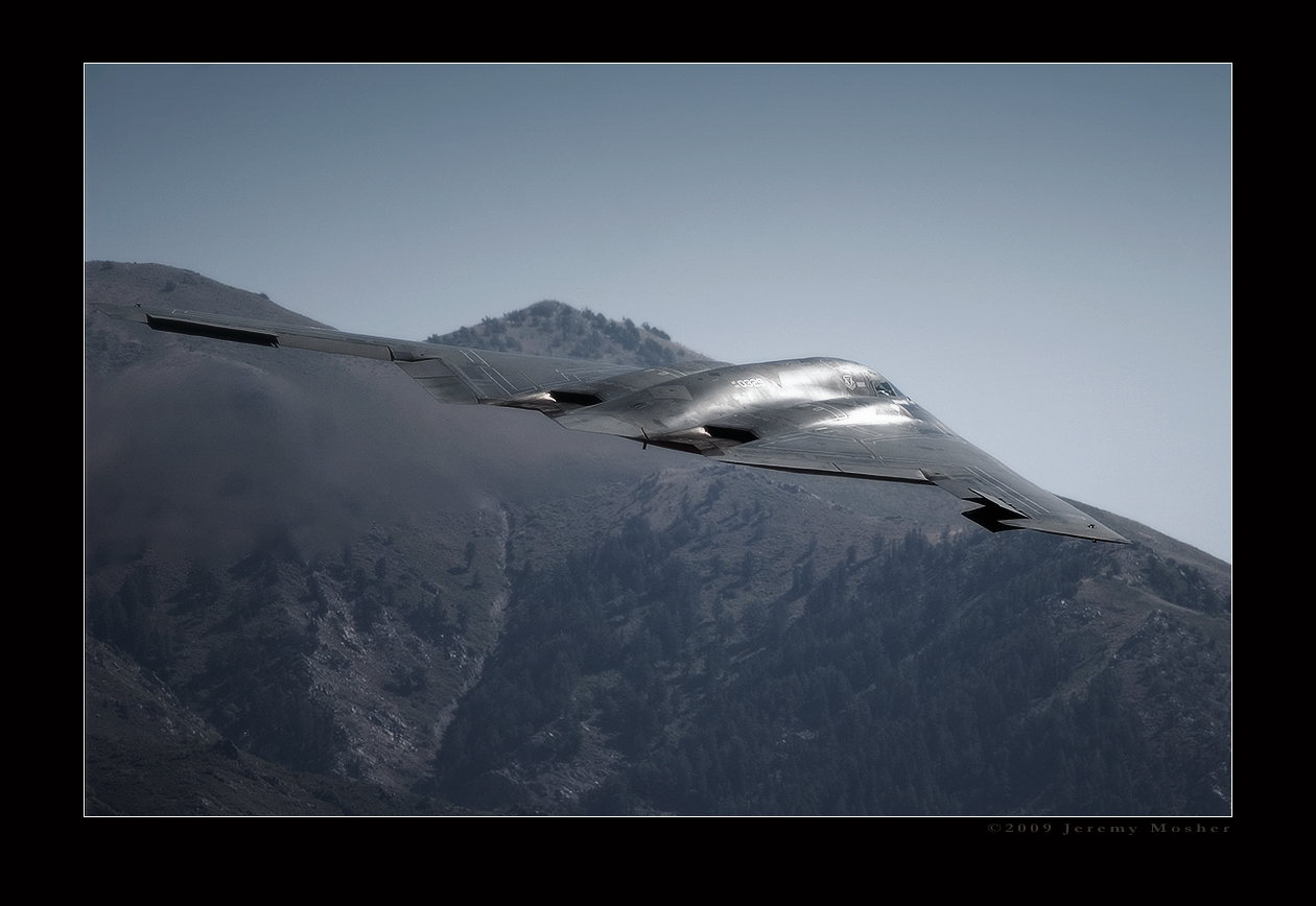 B-2 Departure by jdmimages