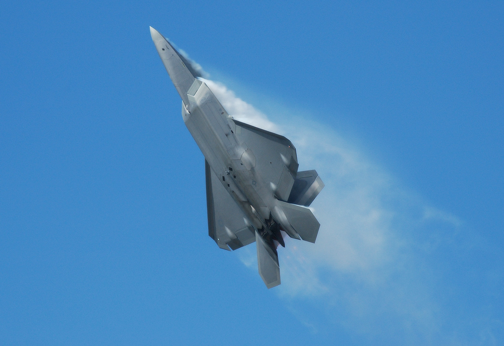 F-22A Wicked Climb by jdmimages