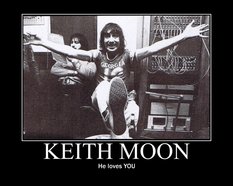 Keith Moon Loves You by songofthesea3 on DeviantArt