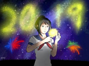 Yandere-Chan Happy New Year!