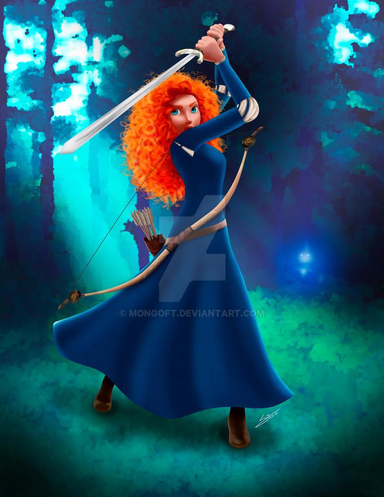 Brave - Merida by Mongoft on DeviantArt X 23 Cosplay Wallpaper