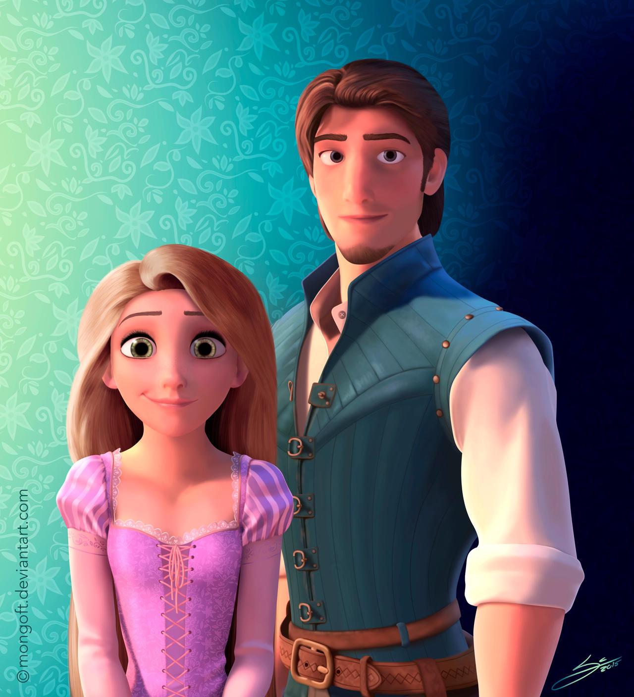 Rapunzel And Eugene Wa...