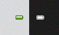 Battery icon by kevinS555