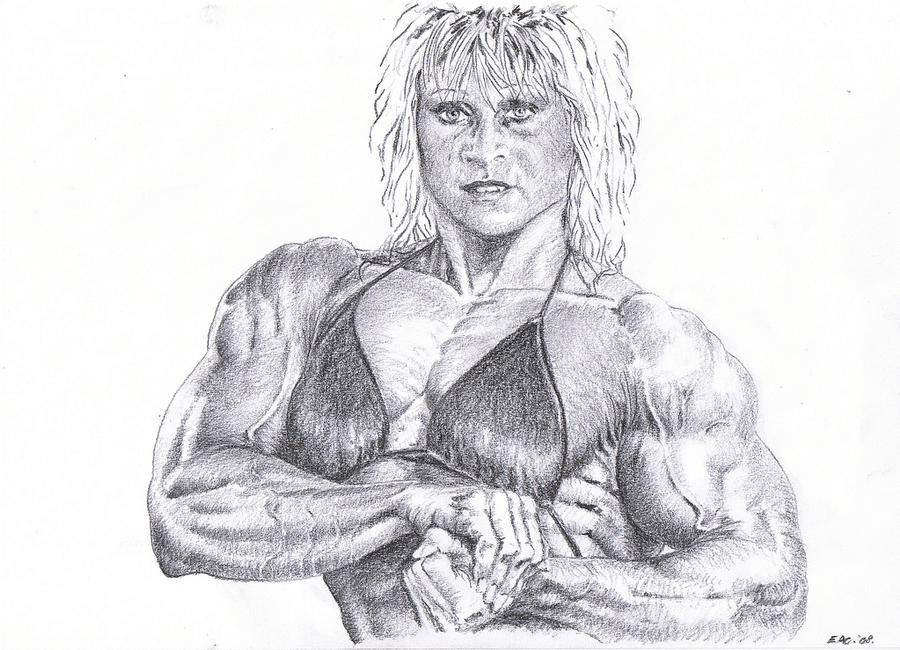 muscle girls of porn