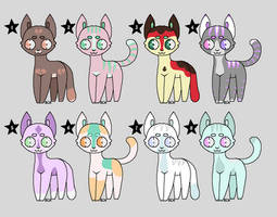 CHEAP Cat Adopts (1 point) OPEN 4/8 by Renigee