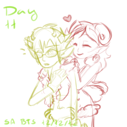 Tainted Advent 2012 - Day 11 (Late Sollux Cutsy~) by ThisAccountIsDead462