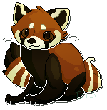 Quick Red Panda Pixel by Taiinty