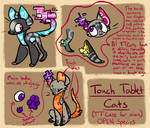 Touch Tablet Cats - Open Species