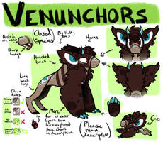 Venunchors Species Ref (please read description) by ThisAccountIsDead462
