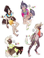 CLOSED Plumadra Set Price Designs by ThisAccountIsDead462