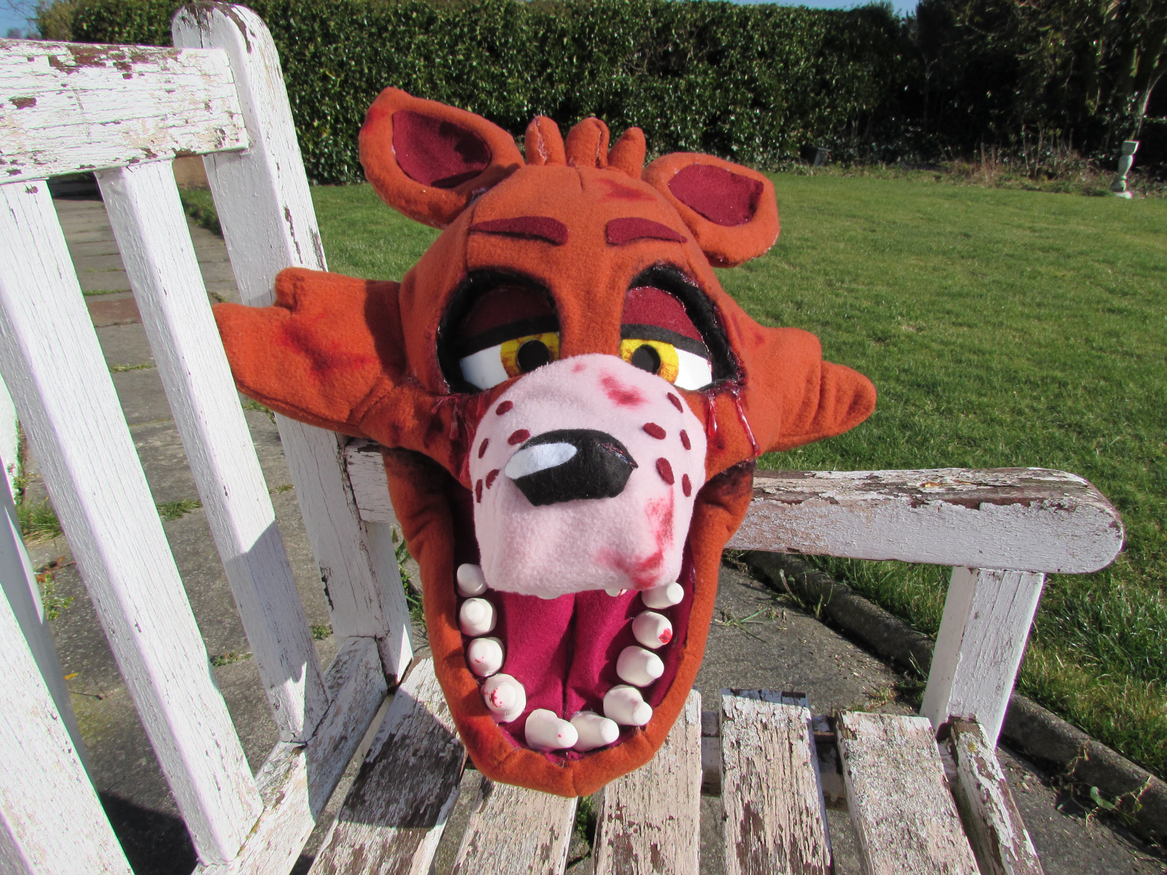 Fnaf masks for sale -  Thisaccountisdead462 Foxy Mask Update Minus Eyepatch By Thisaccountisdead462