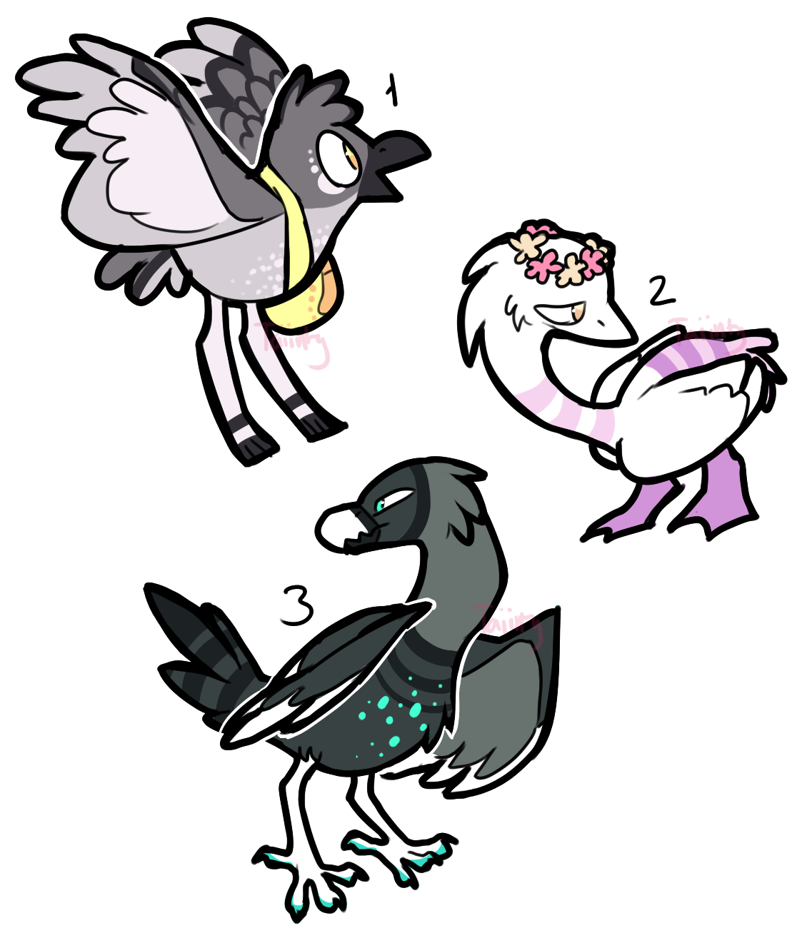 CLOSED Birb designs (+humans) by ThisAccountIsDead462
