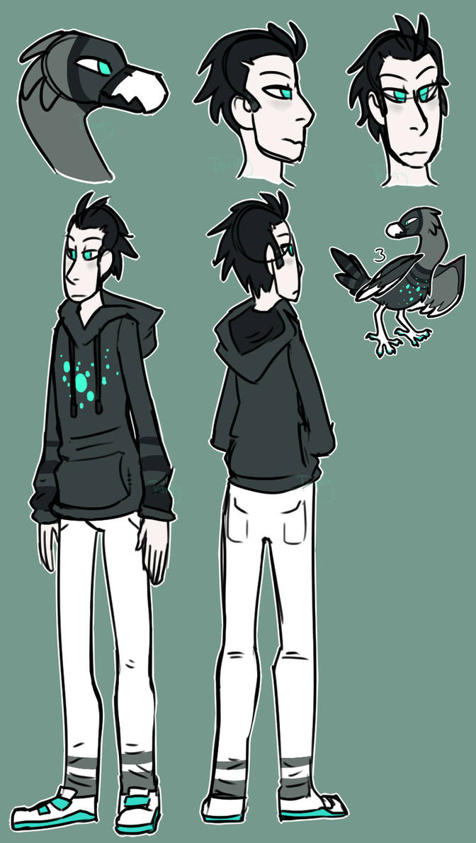 Sh4rkByt3 Human Design (from bird) by ThisAccountIsDead462