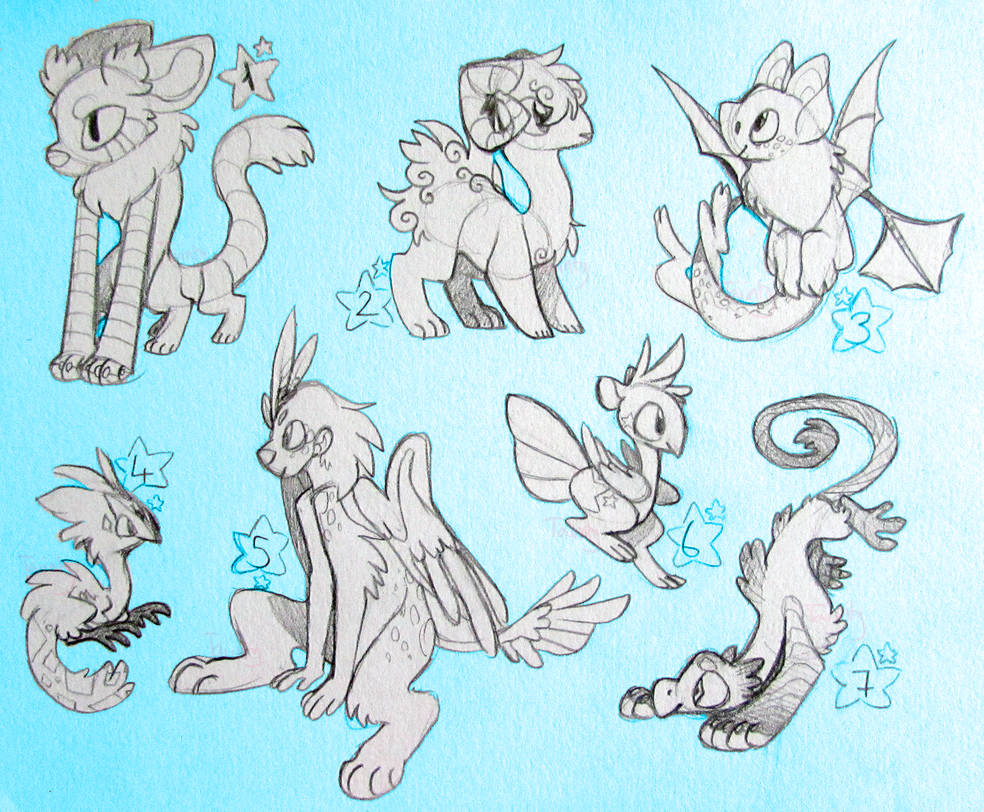 CLOSED Concept Creature/Species Designs by ThisAccountIsDead462
