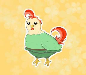 Chicken for Ellenent (500 watcher contest)