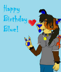 Happy Birthday Blue 8'DD by LoxiDays33