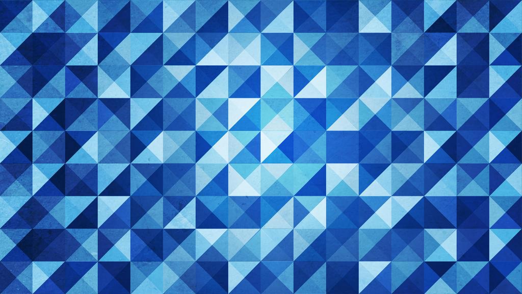 Blue Triangles by Dynamicz34