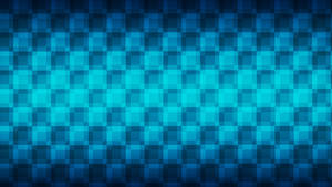 Squares of blue