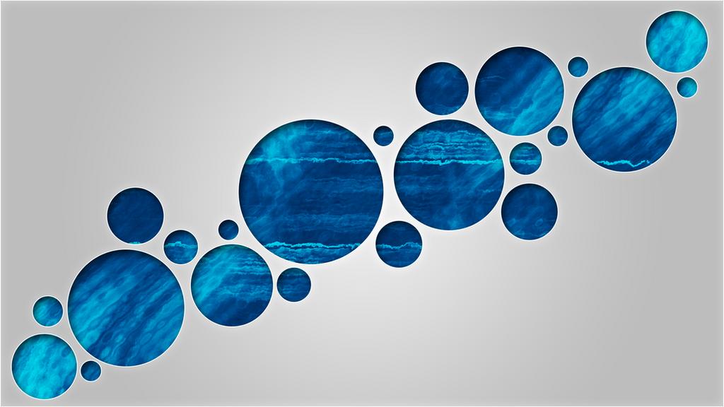 Blue Bubbles by Dynamicz34