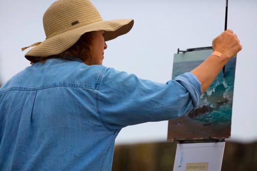 Lady Painter Pt2