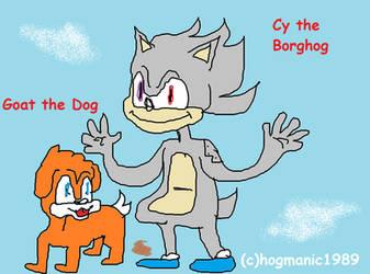 Cy the Borghog by hogmanic1989