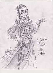 Steampunk Lilly (2013) by Ryder-Sechrest