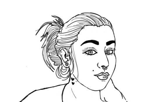 Self Portrait (WIP Profile)