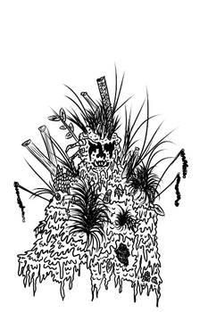 Swamp Monster - Art Trade violinbutterfly