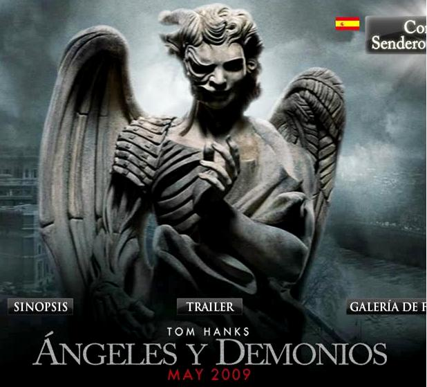 Angels and demons movie site