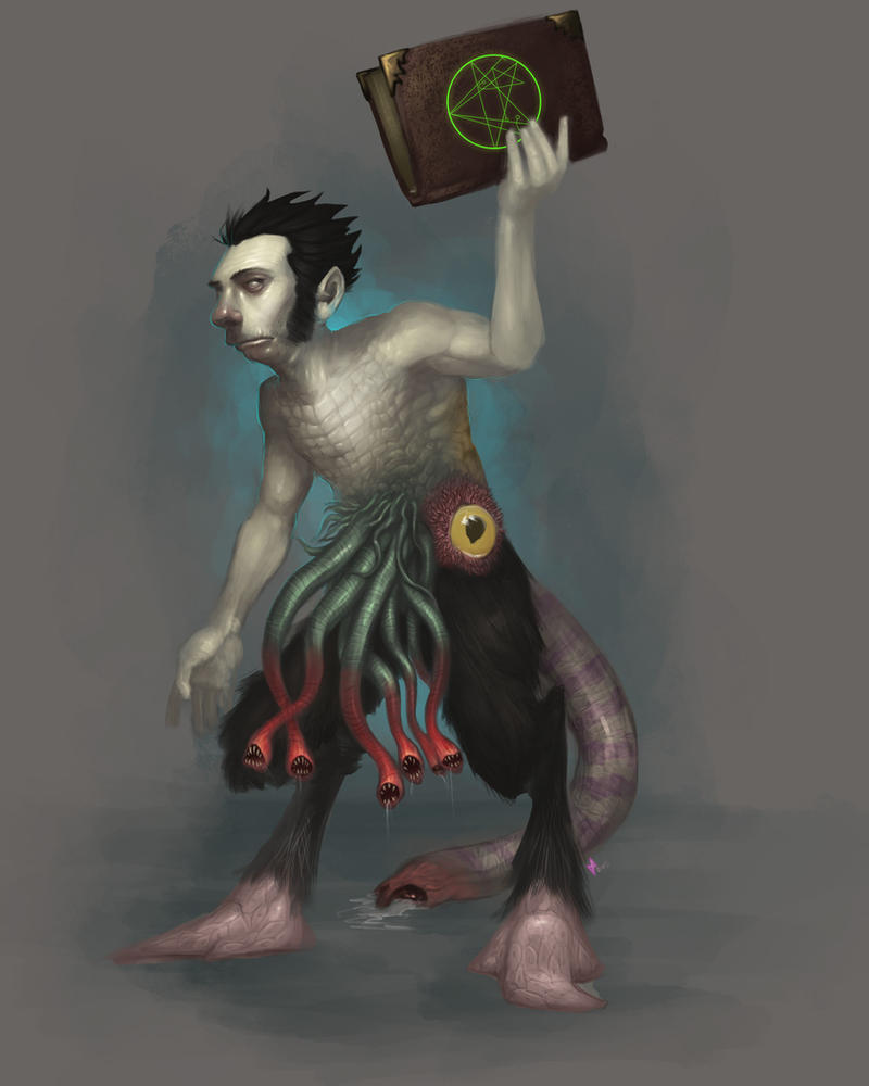 Wilbur Whateley by Churchofrobot