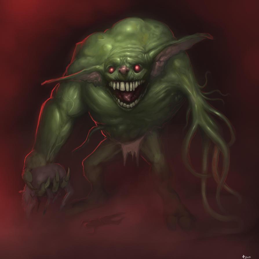 Giant Goblin by Churchofrobot