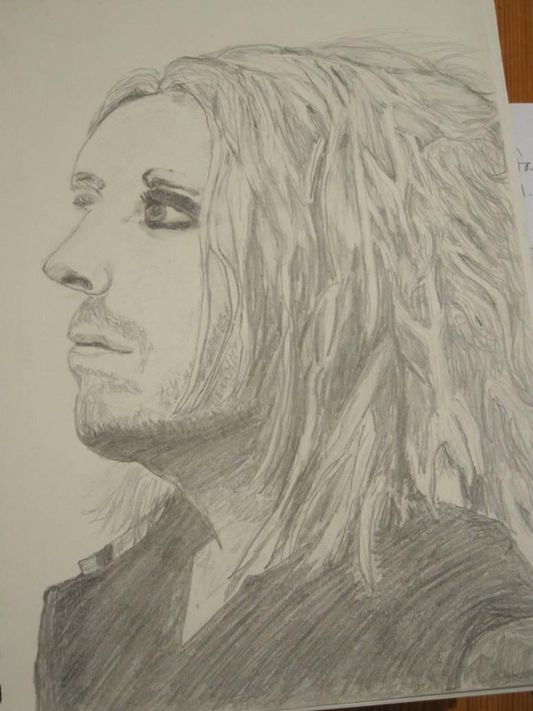 Tim Minchin Pencil Portrait