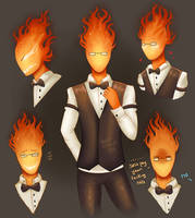 Grillby by Pastel-Circus