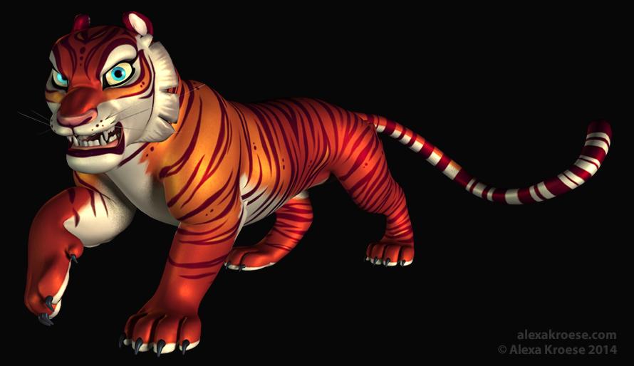 La tigresse by Kuraime