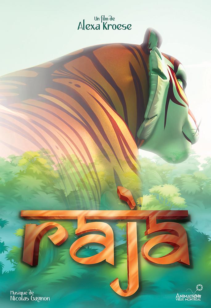 Raja - poster by Kuraime